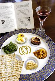 traditional seder plate interfaith passover seder meal church of the resurrection
