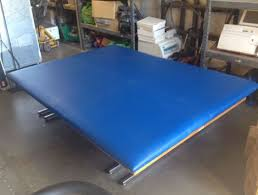 used electric lift table used bailey hi low mat electric lift professional physical therapy