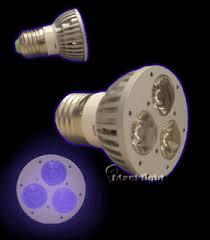 led uv light bulbs blacklight led bulb box of 3 7 uv led deskl blacklight