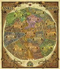 discworld map 26 best discworld images on terry pratchett discworld