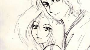 pencil sketches of couples cute love drawings pencil art hd