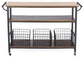 metal kitchen island lancashire wood and metal kitchen cart industrial kitchen