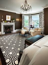 White Curtains With Blue Trim Decorating Brown Walls White Trim Wood Floors Poss Colorful