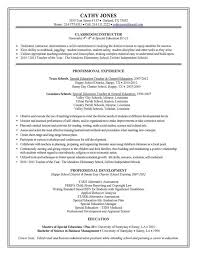 Sample Resume For Business Administration Graduate by Special Education Teacher Resume Sample Page 1 Special