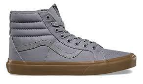 light gray vans womens amazon com vans sk8 hi reissue frost grey light gum canvas