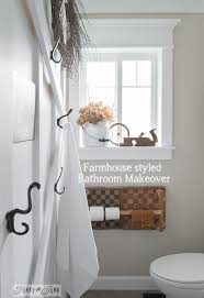 farmhouse bathrooms ideas your own farmhouse bathroom yourself hometalk