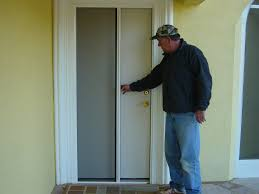 retractable wall exterior design awesome retractable screen door in white with