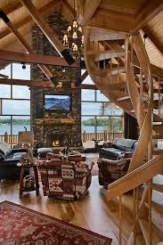Log Home Interior Designs Small Cabin Interior Designs