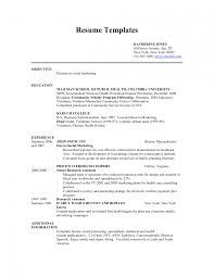 Ministry Resume Template Write Resume Objective Qualifications How For To A Do Template