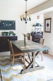 Building A Farmhouse Dining Table Diy Farmhouse Dining Table Ennis Creative