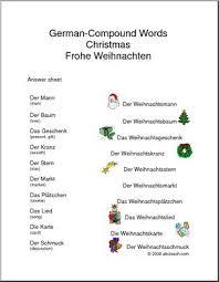 german worksheet christmas abcteach