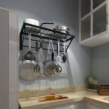 hanging pot rack ebay