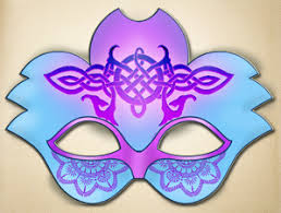 purple masquerade masks blue and purple masquerade mask the printable mask shop