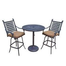patio bar height dining set sunbrella fabric bar height dining sets outdoor bar furniture