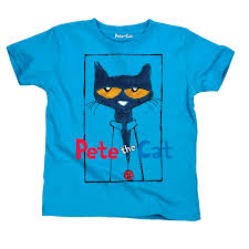 pete the cat licensed book character picture frame toddler t shirt