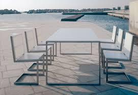 Modern Aluminum Outdoor Furniture by Modern Outdoor Dining Table Hxun Cnxconsortium Org Outdoor