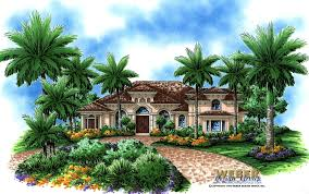 tropical home plan house weber design group beach floor loversiq
