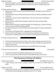 Working With Children Resume What Format Should My Resume Be In What Information Should Be On