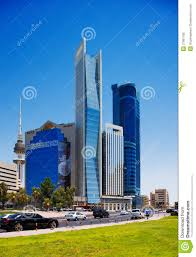 beautiful skyscrapers of the kuwait city editorial image image