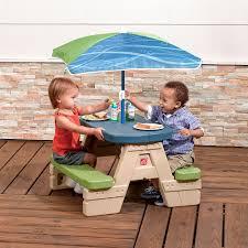 Playskool Picnic Table Sit U0026 Play Picnic Table With Umbrella Toys R Us Canada