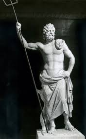 poseidon marble statue from melos 2nd century bce in the