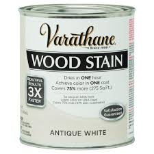 interior wood stain colors home depot varathane 1 qt 3x antique white premium wood stain 287755 the