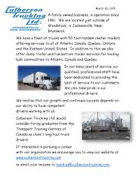 Truck Loader Resume Job Postings Transport Training Centres Of Canada