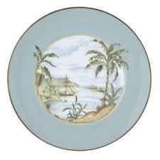 buy lenox aqua accent plate from bed bath beyond
