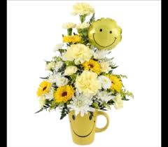 Smiley Face Vase Smiley Face Delivery Southfield Mi Thrifty Florist Southfield