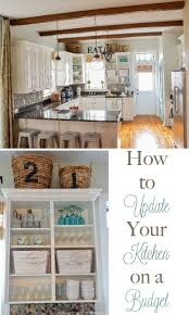 how to update your kitchen on a budget budgeting kitchens and