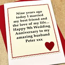 9th wedding anniversary gift 9th wedding anniversary gift ideas for husband imbusy for