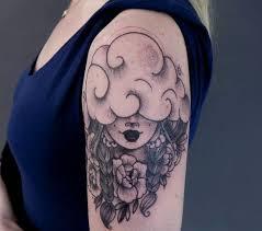 20 cute cloud tattoo ideas for women styleoholic