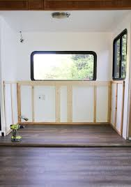 Tv Wall Mount For Rv Installing A Tv Lift And Electric Fireplace In Rv
