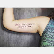 beautiful quote tattoos popsugar australia smart living