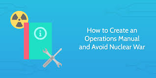 how to create an operations manual for your business and avoid