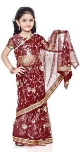 kids fashion saree kids in indian wear pinterest saree