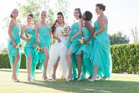 mint bridesmaid dresses dressed up