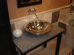 bathroom sink design ideas bath shower copper illusion glass kraus vessel sinks design ideas