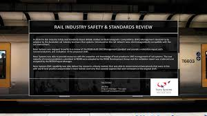 rail industry safety and standards review systems