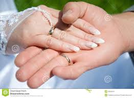 Wedding Ring Hand by Two Hand With Wedding Ring Royalty Free Stock Images Image 26893919