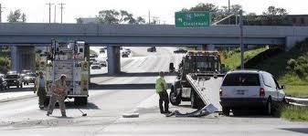 3 vehicle crash near i 75 in miamisburg