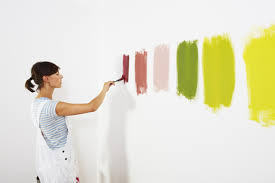 correctly use a paintbrush on walls