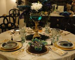 Centerpiece With Feathers by Feather Centerpiece Etsy