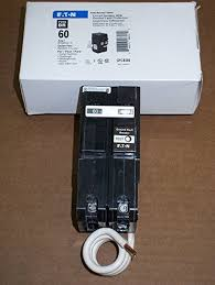 double pole gfci circuit breaker 60 amp ground fault circuit