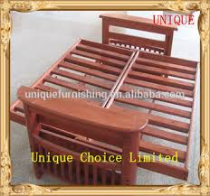 solid wood futon frame wooden futon frame for solid wood folding sofa bed view folding