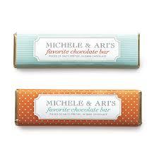 personalized chocolate bar favor label template martha stewart