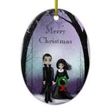 cool gothic ornaments u0026 keepsake ornaments zazzle