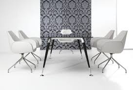 Black Glass Boardroom Table Contemporary Boardroom Table Glass Rectangular Astero