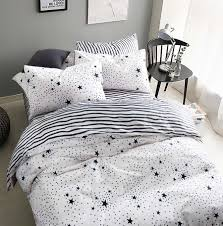 Black And White Twin Duvet Cover High Quality Black White Pillow Cover Set Buy Cheap Black White