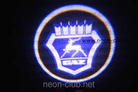 lexus logo lights gaz led door lights neon logo